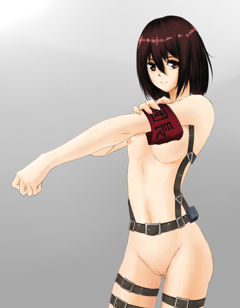 titan nude on attack mikasa Tails is a girl comic