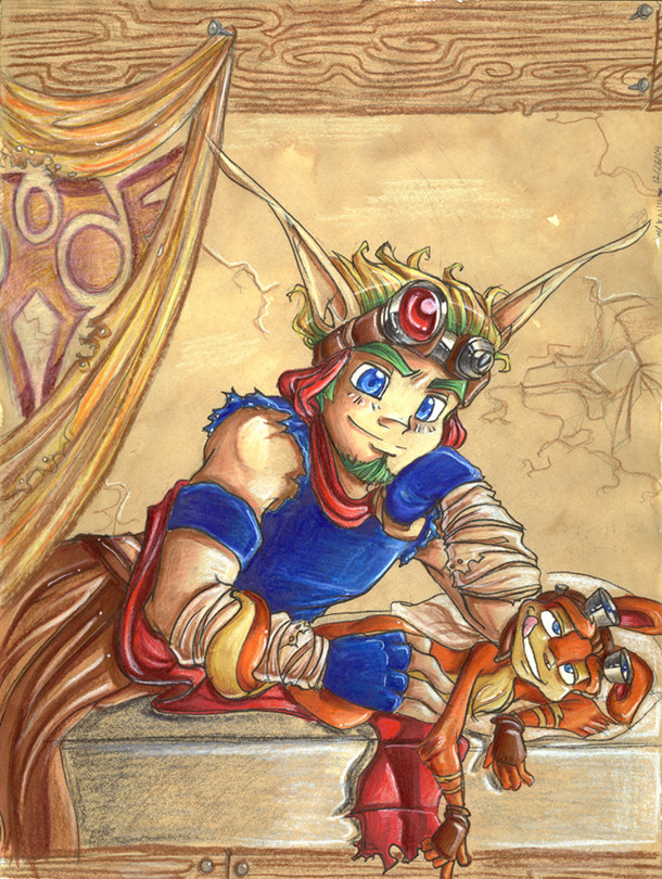 and jak daxter Lucy in the sky runaways