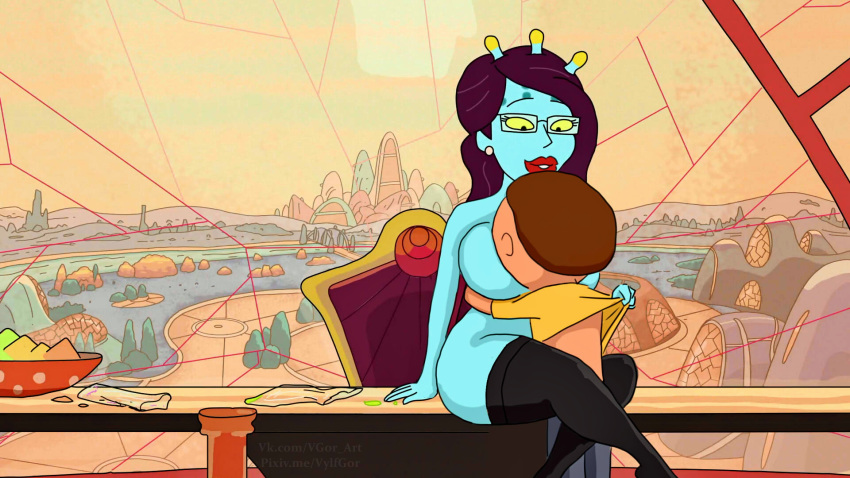 morty and smith nude summer rick Lapis lazuli land of the lustrous