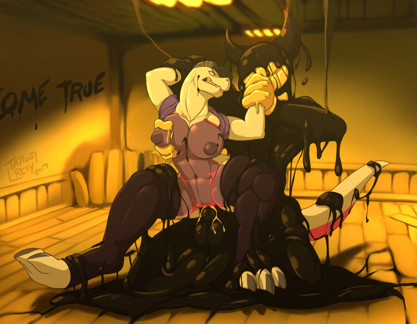 ink the vore and machine bendy Bunny camilla fire emblem heroes