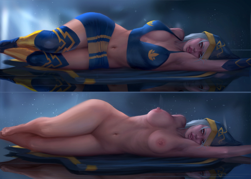 league of legends ashe nude Under night in birth sion