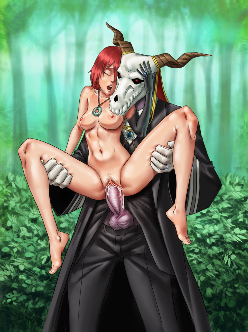 the ancient titania bride magus All the way through anal