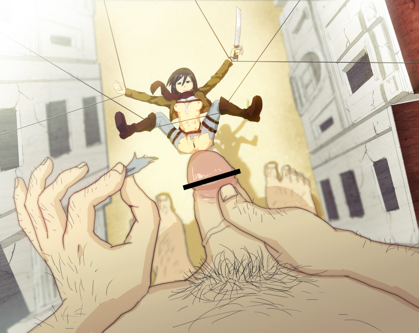 crystal on giant attack titan Bird hunting by strong bana